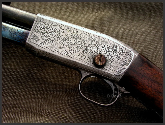 Hand Engraved Remington Model 12