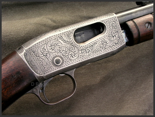 Hand Engraved Remington Model 12 .22