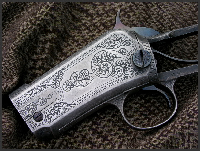 Engraved Winchester 1890
