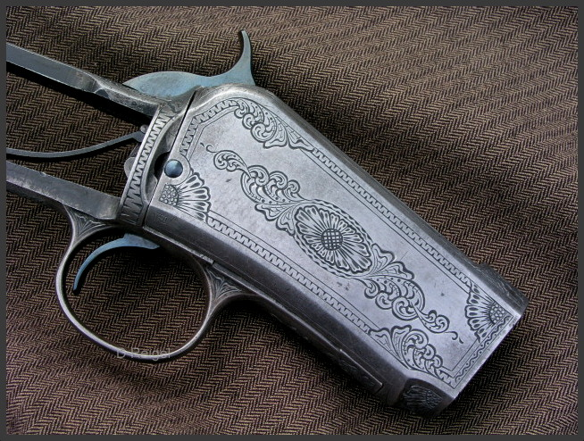 Engraved Winchester Model 1890