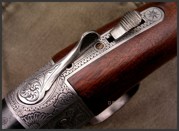 Hand Engraved Winchester Model 37 Shotgun