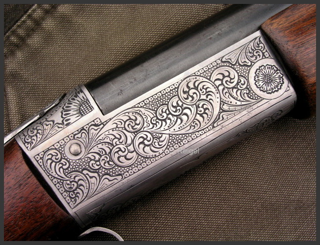 Hand Engraved Winchester Model 37 Steelbilt