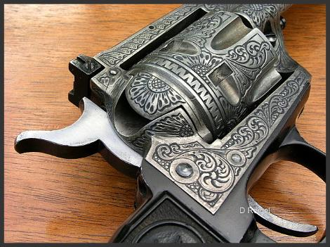 Hand Engraved Colt New Frontier 22