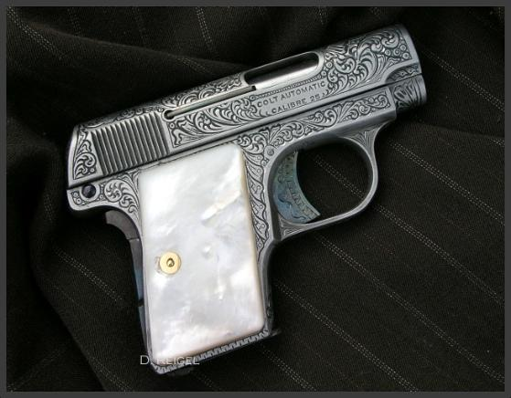 Engraved Colt Vest Pocket