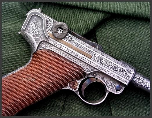 Engraved Luger