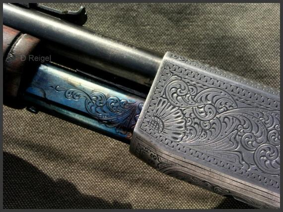 Hand Engraved Remington Model 12 Rifle