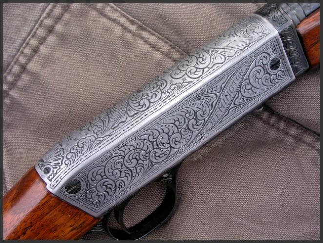 Engraved Remington 241, by Reigel Gun Engraving.com