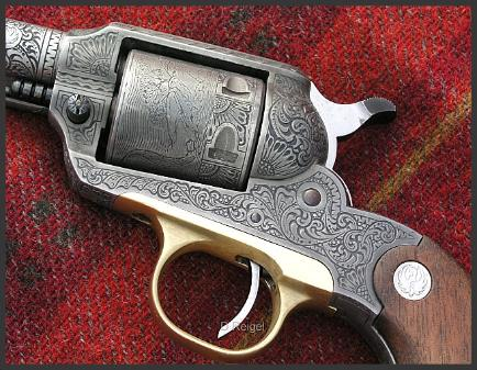 Hand Engraved Ruger Super Bearcat
