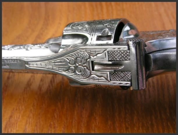 Engraved Break Top, By Reigel Gun Engraving