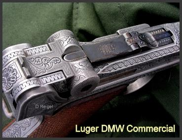 Engraved Luger DMW Commercial