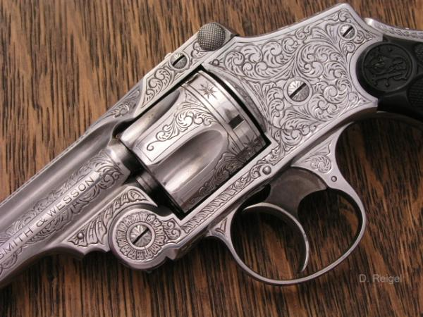 Engraved S&W